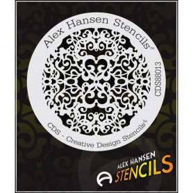 Pochoir Alex Hansen CDS-88013
