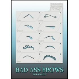 Pochoirs Bad ass stencil showy pour le maquillage des enfants