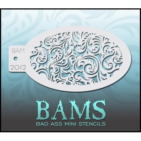 Pochoir Bad ass stencil 2012 pour le maquillage artistique des enfants