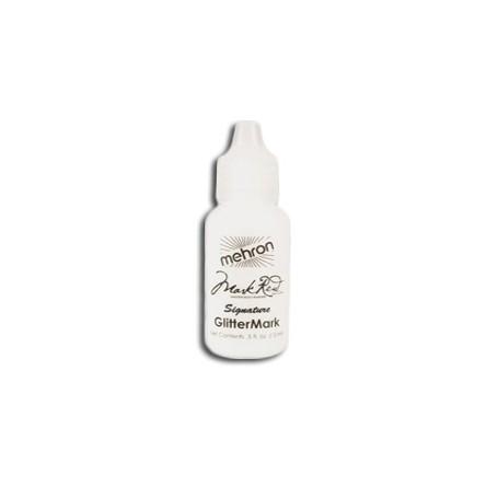 Paillettes gel blanc cristal pour le maquillage artistique