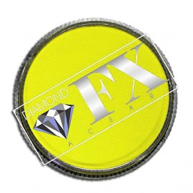 Maquillage artistique jaune néon Diamond FX
