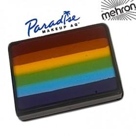 Maquillage artistique multicolore Arc en ciel Mehron
