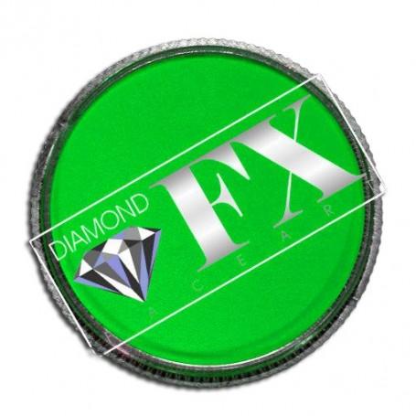 Maquillage artistique vert néon Diamond FX