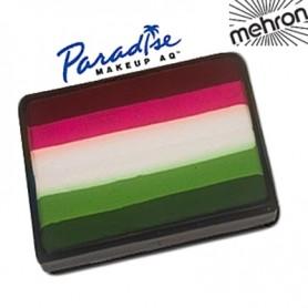Maquillaje artístico multicolor Flor Mehron