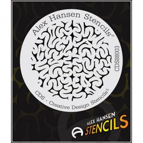 Pochoir Alex Hansen CDS-88003