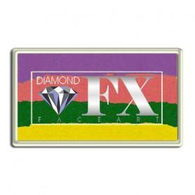 Maquillaje multicolor Puesta del sol metalico Diamond FX 30 gr