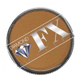 Maquillaje artístico vispero de oro metálico Diamond FX 32 gr