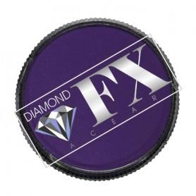 Maquillaje artístico violeta metálico Diamond FX 32 gr
