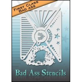 Pochoirs First class Bad Ass Circus BFXBA-2001
