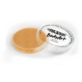 Maquillage artistique Global Colours abricot métallique