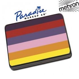 Maquillaje artístico multicolor del arco iris Mehron
