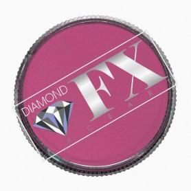 Maquillage artistique rose foncé métallique Diamond FX