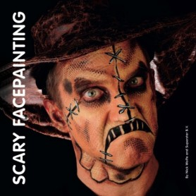 Livre de maquillage Scary Facepainting