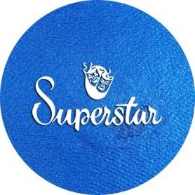 Maquillage artistique Superstar bleu mystique métallisé