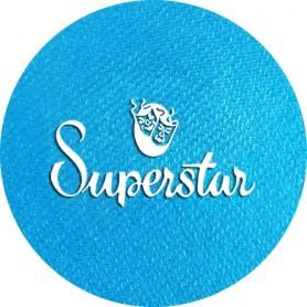 Maquillage artistique Superstar bleu Ziva métallisé