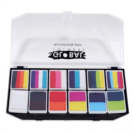 Paleta Fun Strokes Burst Global Colours (6 x 10 gr)
