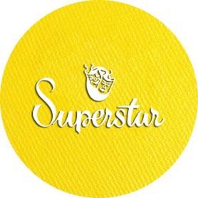 Maquillage artistique Superstar jaune métallisé