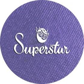 maquillaje artístico lavanda metálico Superstar