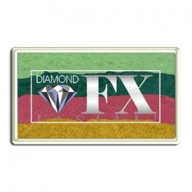 Maquillaje multicolor Rosa Diamond FX 30 gr