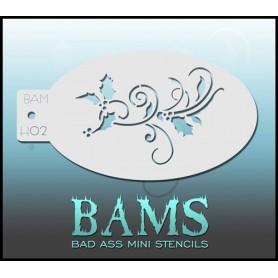 Bad ass stencil 1039
