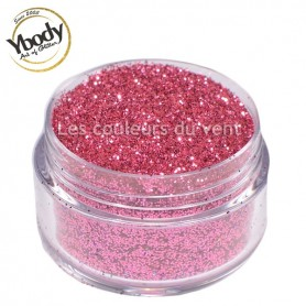 Paillettes roses Ybody (5g)