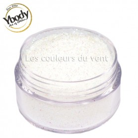 Paillettes blanches holographiques Ybody (5g)