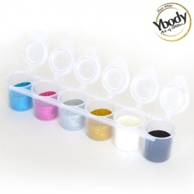 Set de paillettes Ybody (6 x 15ml)