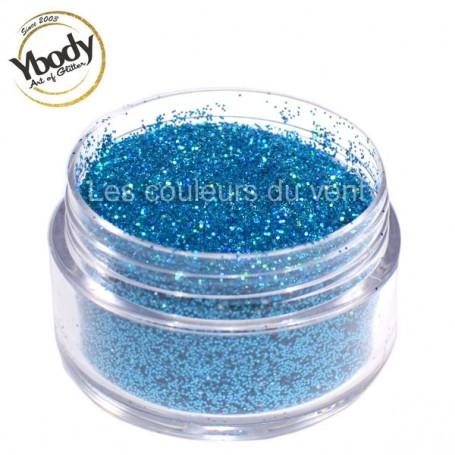 Paillettes holographique bleues Ybody (5g)