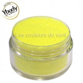 Paillettes fluorescentes jaunes Ybody (5g)