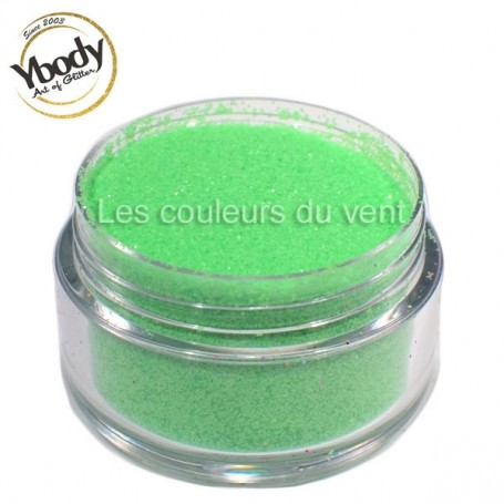 Paillettes fluorescentes vertes Ybody (5g)