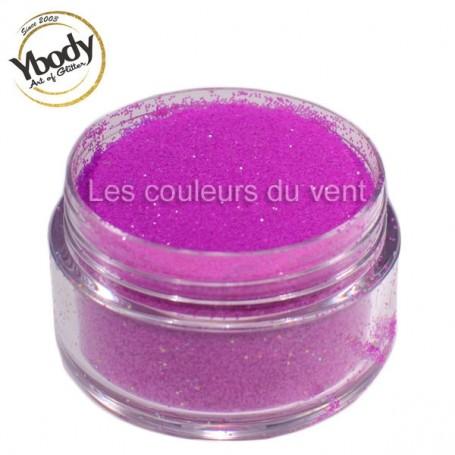 Paillettes fluorescentes violettes Ybody (5g)