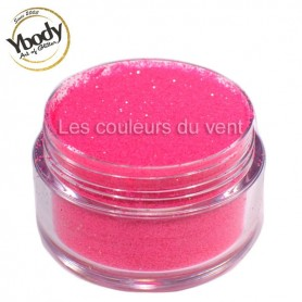 Paillettes fluorescentes roses Ybody (5g)