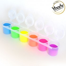 Set de paillettes fluorescentes Ybody 90ml