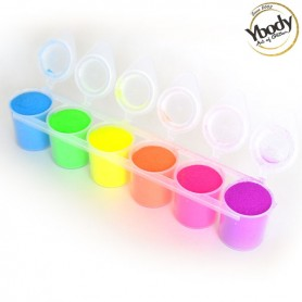 Set de paillettes fluorescentes Ybody 160ml