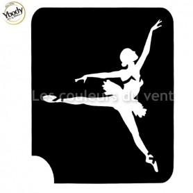 Pochoir danseuse Ybody
