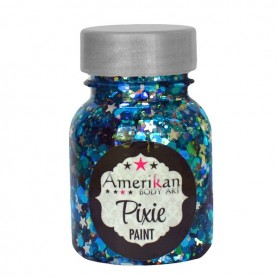 "Paillettes Pixie Paint ""Midnight blue"" Amerikan Body Art"