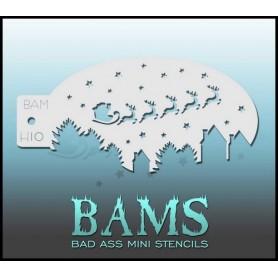 Bad ass stencil H10