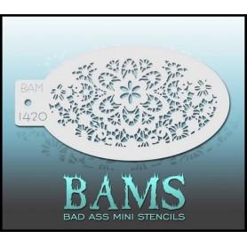 Bad ass stencil 1420