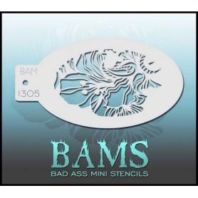 Bad ass stencil 1305