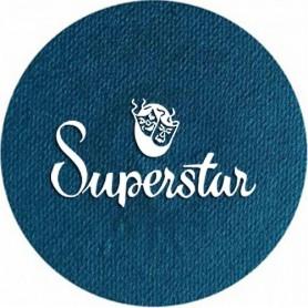 Maquillage artistique Superstar bleu pétrole clair