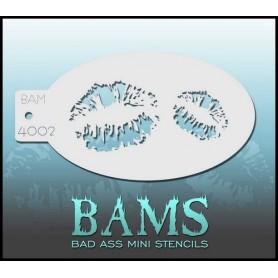 Bad ass stencil 4002