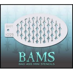 Pochoir Bad ass stencil 1025