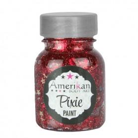 """Paillettes Pixie Paint """"Little red Corvette"""" Amerikan Body Art"""