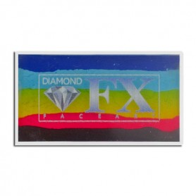 Maquillaje multicolor Bright Rainbow Diamond FX 30 gr
