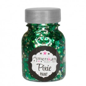 "Paillettes Pixie Paint ""Absinthe"" Amerikan Body Art"