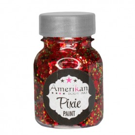 "Paillettes Pixie Paint ""Drop Dead Red"" Amerikan Body Art"