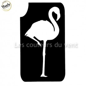 Pochoir flamant rose Ybody