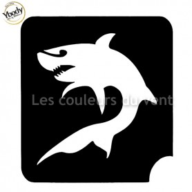 Pochoir requin Ybody