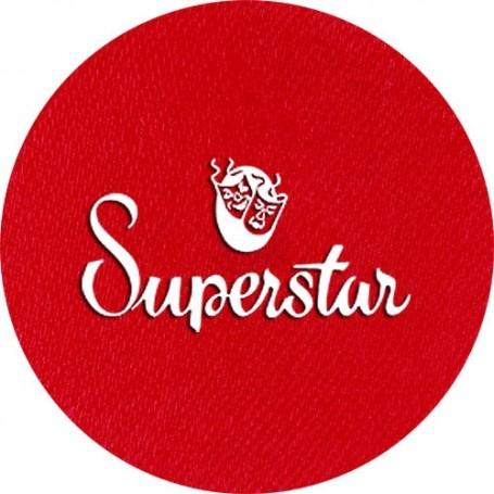 Maquillage artistique Superstar rouge valentine métallisé