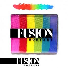 Maquillage multicolore Fusion Bright rainbow